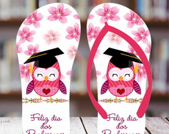 Chinelo Personalizado Dia do Professor 1