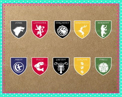 Aplique 6cm Game of Thrones