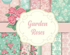 Kit Papel Digital - Garden Roses