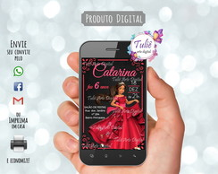 Convite Digital Elena de Avalor Whatsapp