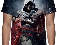 Camiseta Assassins Creed Black Flag - Estampa Total
