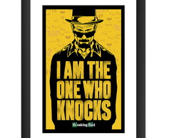 Quadro Breaking Bad Serie Tv Seriado Decoracao Salas 45x60cm