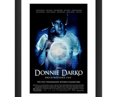 Quadro Donnie Darko Filme Decoracao Cinema Cult Sala 45x60cm