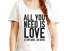 BABY LOOK - QUEENLER - ALL YOU NEED IS LOVE
