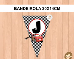 Bandeirola Carros Disney - kit 1