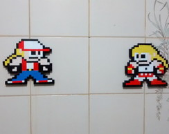Terry E Andy Bogard 8 Bits Pixel Art