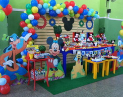 Mesa Decorada Casa do Mickey Locaçao