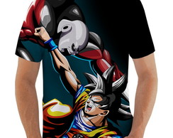 Camiseta - Goku vs Giren - Dragon Ball Super