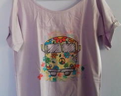 T-Shirt kombi flower