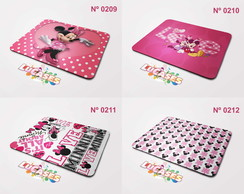 Mouse Pad Minnie Minie Miney Girls Disney Meninas Mousepad