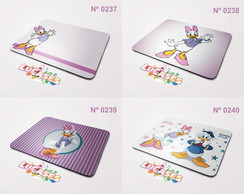 Mouse Pad Margarida Pato Donald Disney Girls Girl Mousepad