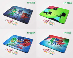 Mouse Pad Pj Masks Herois de Pijamas Greg Connor Mousepad