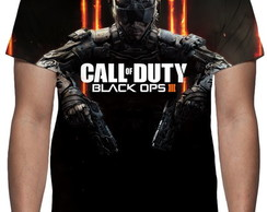Camiseta Call of Duty Black Ops 3 - Estampa Total