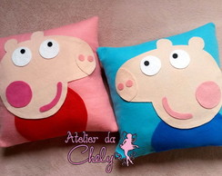 Kit Almofadas Peppa e George