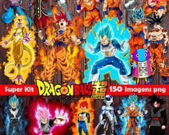 Kit Digital Dragon Ball Super para Imprimir