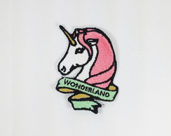 Patch Bordado Unicórnio Wonderland - modelo2