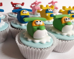 Mini cupcake Super Wings