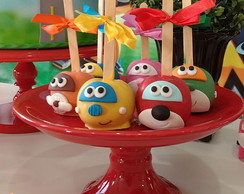 Maçã de chocolate Super Wings