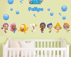 Adesivo Decorativo Infantil Bubble Guppies