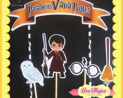 Topo de bolo scrap | Harry Potter