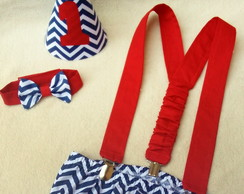 conjunto smash chevron royal