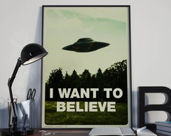 "pôster ""i want to believe"""