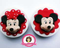 10 latinhas decoradas mickey biscuit