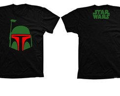 Camiseta Star Wars Boba Fett A01