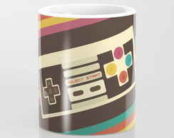 Caneca Retro Video Game