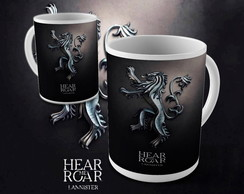 Caneca Game of Thrones Lannister