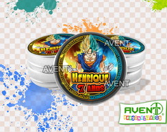 Latinha Mint to be Dragon Ball Super - Vegetto Ssj Blue