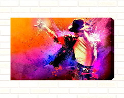 Quadro Decorativo Michael Jackson 40x50