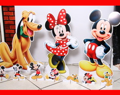 Kit Totem de Chão Turma do Mickey e Displays De Mesa