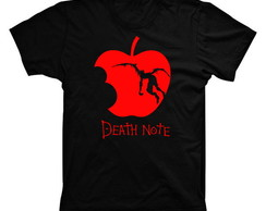 Camiseta Death Note Maçã 02