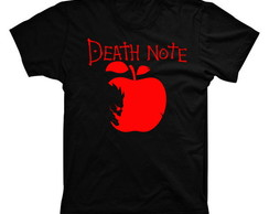 Camiseta Death Note Maçã 03