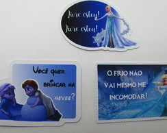 100 Toppers personalizados Frozen