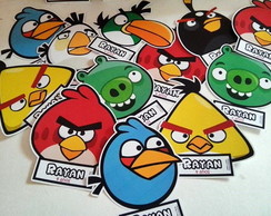 Tag ou Toppers Angry Birds