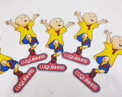 Tags ou Toppers Caillou