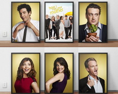 "kit com 6 posters ""how i met your mother"""