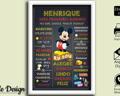 CHALKBOARD ARTE DIGITAL MICKEY