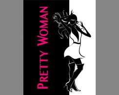 Poster Arte Digital Filme - Pretty Woman