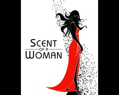 Poster Arte Digital Filme - Scent of a Woman