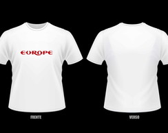 Camisetas Personalizadas Times Europeus  6438970244d66