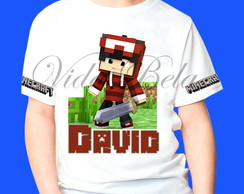 Camiseta Minecraft Authentic Games 6