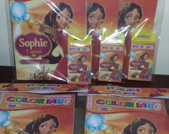 Kit Colorir Revistinha Elena de Avalor