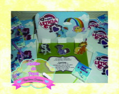 Convite 3D (My Little Pony)