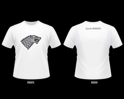 Camiseta Game of Thrones - House Stark