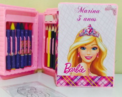 Estojo de Pintura barbie