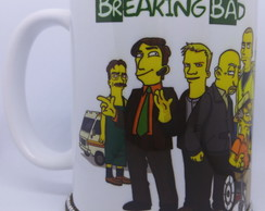 Caneca Breaking Bad Simpsonized - Mod. 2