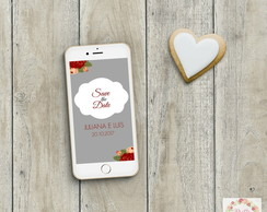 Save the date casamento digital - mod.03